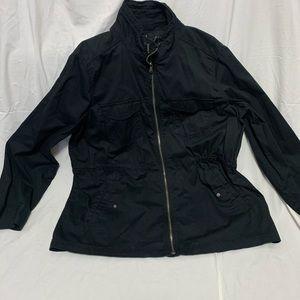 Sonoma Lightweight Cargo Jacket Black 1X
